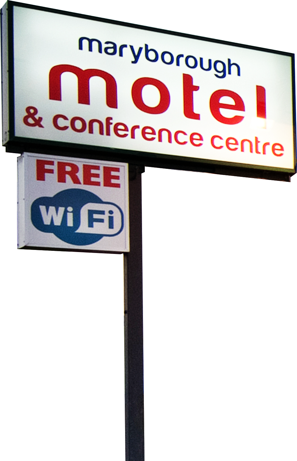 Maryborough Motel & Conference Centre Sign