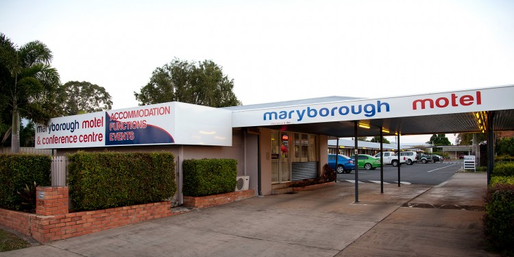 Maryborough Motel Entry