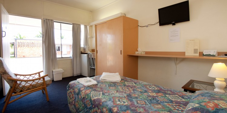 Maryborough Motel Standard Single Room