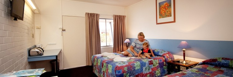 Maryborough Motel Superior Twin Room